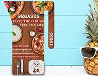 Flyer (Pegasus restaurant)