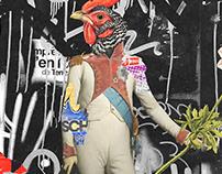 Collage Artwork 214-216