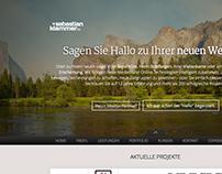 Portfolio Website 2014