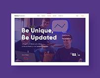 UX/UIWebsite Design (Desirous Production)