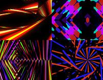 Neon Coloring - VJ Loop Pack (6in1)