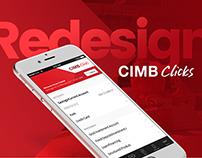 CIMB Clicks App ― Redesign visual