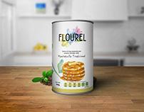 Flourel: Product Packaging Diseño de Envase/ Etiqueta