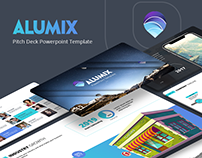 Alumix Free Pitch Deck presentation template
