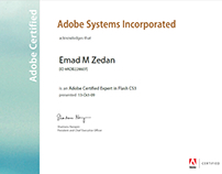 Adobe Certified Expert in Flash CS3 2009