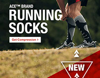 Running Sock Launch