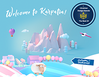 "Concept Design Site ""KARPATIA"""