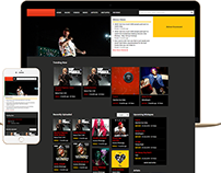 Music Studio Website Landing Page
