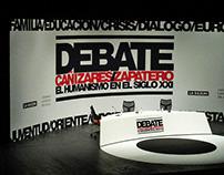 Debate. 21st Century Humanism. Graphic Identity