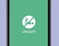 Unlight - Quit Smoking App UI Design