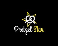 Pretzel Star Logo Design