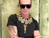 "Lakis Gavalas Wears the ""Tsolias Necklace"""