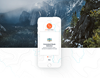 "Design App ""My Hiking"""