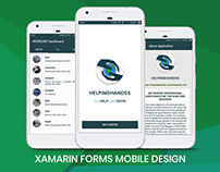 HelpingHandss: Xamarin.Forms Application Design