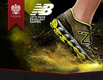 New Balance Minnimus - Rich Media Advertisement
