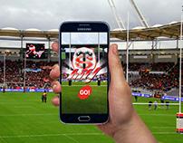 Prototype de jeu promotionnel de Rugby