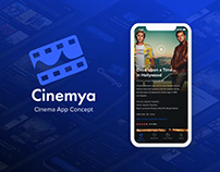 Cinema App UI/UX and Branding | Cinemya
