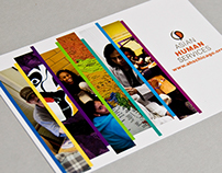 Asian Human Services brochure & postcard