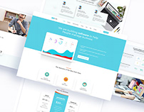 Softcode Software ,IT Startup PSD Template FREE