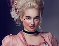 Study of makeup history