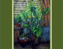 My Room Long Ago - Watercolour/ Aquarelle