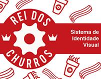 Rei dos Churros - Projeto de Identidade Visual