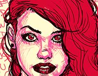Redhair sketch