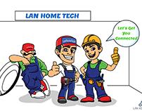 Lan Home Tech Whiteboard Animation