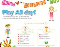 Children's Day Banner Design