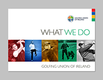 The Golfing Union of Ireland Brand Work