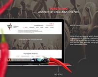 Perec Pro Website Design