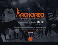 Archoreo Dance Application