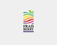 FraisBerry Logo and Corporate identity design