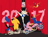Cog Design Cultural Calendar 2017 review