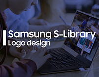 Samsung SLibrary Logo & App Icon Design