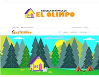 Web Escuela de Párvulos El Olimpo