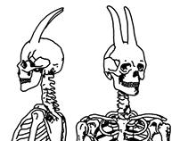 LOUVRE - Skeleton of Pan