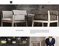 Za - Fashion Portfolio WordPress Theme by bwsm