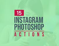 15+ Best Instagram Photoshop Actions