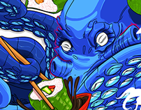 Octopussy & Sushi!