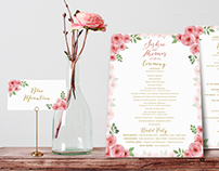 S&T Wedding / Reception Set