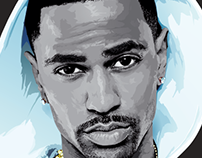 Big Sean Vector Portrait
