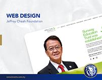 Web Design - Jeffrey Cheah Foundation
