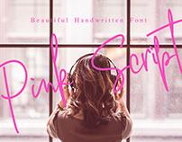 Pink Script - Handwritten Font