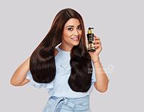 Shriya Saran for V care's Hair Tonic
