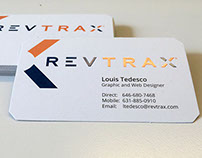 RevTrax Business Card Design