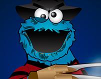 Nightmare at the Sesame Street / Fan art