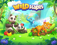 Wildscapes (Playrix) splash art