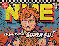 NME's Ed Sheeran Cover