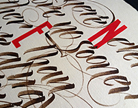 Typographic elegy or nonsense verse and another tangle
